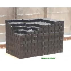 Tas de briquettes de...